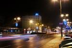 Hotel Petropol nocą