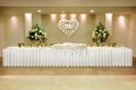 Przykładowy stół weselny